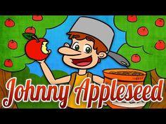 Johnny Appleseed | Folk Tale Time | A Cool School Folk Tale - YouTube