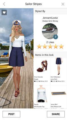 Sailor Stripes - Covet 5 Star Look