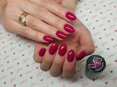 Semilac 123 szherezada Chic Nails, Fun Nails, Autumn Nails, Cute Acrylic Nails, Short Nails, Nail Arts, Nails Inspiration, Gel Polish, Pretty Nails