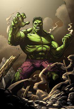 #Hulk #Fan #Art. (Hulk Smash) By: Ross Hughes. [THANK U 4 PINNING!!]