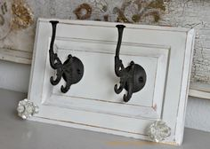 repurpose cabinet doors to coat hooks, diy, how to, repurposing upcycling Old Cabinets, Cabinet Doors, Diy Furniture, Doors Repurposed, Wood Crafts, Repurposed Furniture, Door Crafts, Cabinet Door Crafts, Cabinet Doors Repurposed