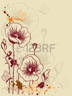 Poppies Stock Vector Illustration And Royalty Free Poppies Clipart