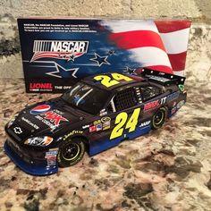 Jeff Gordon No. 24 Pepsi Max NASCAR Unites 2012 Impala Color Chrome 1:24 DieCast