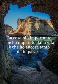 Hanno detto...frasi e citazioni celebri Italian Vocabulary, Spiritual Coach, New Experience, Lust, Spirituality, Positivity, Thoughts, World, Water