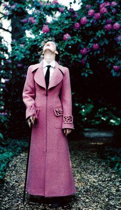 Ellen Von Unwerth for American Vogue, September 1997. Clothing by Chanel.
