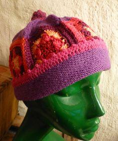 """Häkelmützen - Granny Mütze """"Emma"""" - ein Designerstück von CrochetManiac bei DaWanda"""