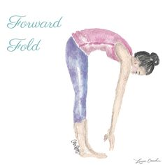 Forward Fold for stress and anxiety. And the best part is that you can do it anywhere (even on your lunch break!). According to Huffington Post, this post provides a feeling of release in your body and mind, allowing you to let go of anything hectic that's going on at work. Stand with your feet hips-width apart, bend your kneed slightly, and fold your hips down to the ground. Let your arms and neck hang for at least one minute for a full release.