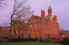 Twilight at Rufford Abbey, Sherwood Forest, Nottinghamshire by Geraldine Curtis, via Flickr