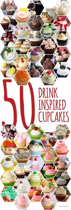 50 Drink Inspired Cupcakes