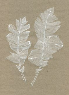 Feather Art Print by youdesignme