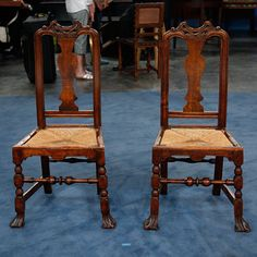 Two John Gaines Side Chairs, ca. 1725