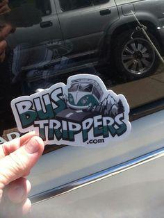 Buss Trippers Sticker  #corel #coreldraw #logo #fluid #vectorart #vehicleart #vector
