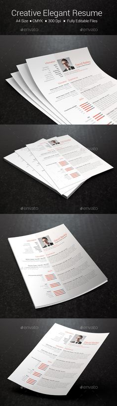 Simple Resume\/CV Print Templates is here http\/\/graphicrivernet - resume printing