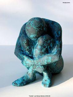 Glenys Barton (1944-) Human Sculpture, Sculptures Céramiques, Art Sculpture, Stone Sculpture, Ceramic Figures, Ceramic Art, Clay Art, Artsy, Artwork