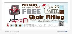 Our Christmas Stocking worthy fitting coupon. It may be free, but it's packed with value.