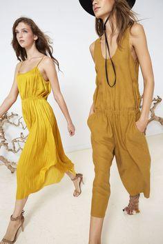 Ulla Johnson Spring 2016 Collection - Luella Dress with Manu Heel    Lee Jumper with Nati Heel