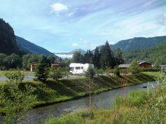 Area sosta camper - Area comunale - Antey-Saint-Andrè (Valle d'Aosta, Italia)