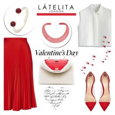 """""""Happy Valentine's day with Latelita"""" by helenevlacho ❤ liked on Polyvore featuring Topshop, Chicwish, Gianvito Rossi, Fendi, women's clothing, women, female, woman, misses and juniors"""