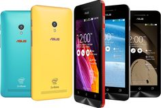 Six new handsets from Asus under its new ZenFone 4 series