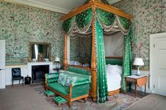 Wellington bedroom ~ Chatsworth House