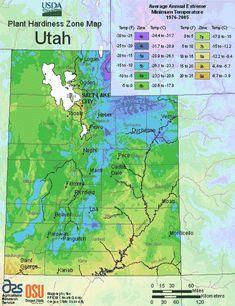 Utah Planting Zones – USDA Map Of Utah Growing Zones#growing #map #planting #usda #utah #zones Planting Zones Map, Vegetable Planting Calendar, Plant Zones, Gardening Zones, Utah Gardening, Gardening Hacks, Vegetable Gardening, When To Plant Vegetables, Planting Vegetables