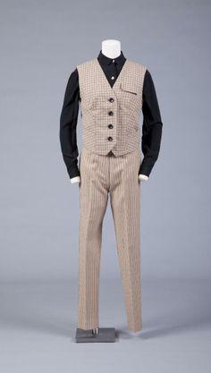 Man's ensemble, Rudi Gernreich, 1960-64. 1960s Fashion, Vintage Fashion, Mens Fashion, Vintage Style, Hairspray Costume, 20th Century Fashion, Retro Men, Historical Clothing, Men Dress