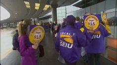 Chicago, chicago minimum wage, fair working wage, fast food workers, fight for 15, hospial workers, Money, o'hare airport workers on strike, protest, rally and strike, sex, sexy, travelers alert