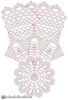 Free Crochet Doily Patterns Free Crochet Doily Patterns, Crochet Circles, Crochet Diagram, Crochet Round, Crochet Home, Crochet Motif, Knit Crochet, Crochet Table Runner, Crochet Tablecloth