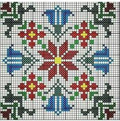 Cross Stitch Cushion, Cross Stitch Rose, Cross Stitch Flowers, Blackwork Embroidery, Cross Stitch Embroidery, Embroidery Patterns, Cross Stitch Designs, Cross Stitch Patterns, Minecraft Pattern