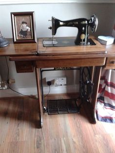 singer sewing machine, painted furniture, repurposing upcycling, Pride of place Treadle Sewing Machines, Antique Sewing Machines, Easy A, Old Sewing Cabinet, Painted Drawers, Restoration Hardware, Repurposed, Painted Furniture, Furniture Refinishing