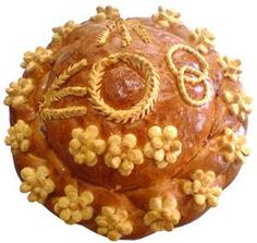 Ambiance~  Ukraine: Ukrainian couples share a type of wedding bread known as Korovai. Decorated with designs representing eternity and the joining of the two families, the bread is considered a sacred part of the wedding feast.  (Source: The Knot.com)  (410) 819-0046  www.maryannjudy.com