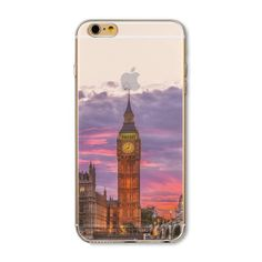 Compatible iPhone Model: iPhone 6 Plus,iPhone SE,iPhone Dirt-resistantRetail Package: NoBrand Name: bigbigxuanSize: InchCompatible Brand: Apple iPhonesType: CaseType: Mobile Phone Accessories & PartsMaterial: Soft TPU Iphone 5s, Apple Iphone 5, Iphone Cases, Modern City, Iphone Models, 6s Plus, Twilight, London, Crystals