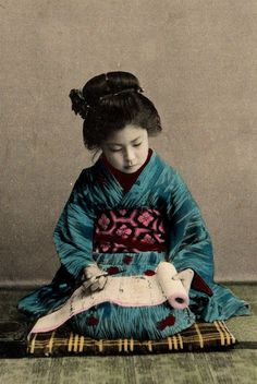 thekimonogallery:  Early 20th century, Japan
