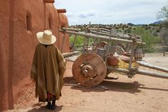 El Rancho de Las Golondrinas, Santa Fe, New Mexico - This is a wonderful living history museum on the site of an authentic 19th century Rancho. Lots of beautiful artifacts, costumes, stories and history to be found here - my kids loved it too.