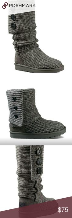 UGG Classic Cardy Gray Pair of comfy UGG boots fit for any occasion UGG Shoes Winter & Rain Boots