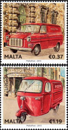 2013 stamps | Malta Post Launches EUROPA 2013 Stamps Collection | Stampnews.com