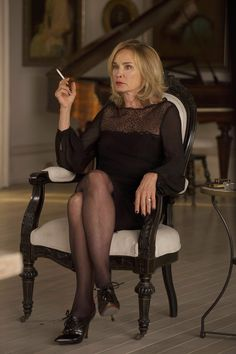 fiercefabulousflawless:  HQ still photo of Jessica Lange as Fiona Goode in Fearful Pranks Ensue.