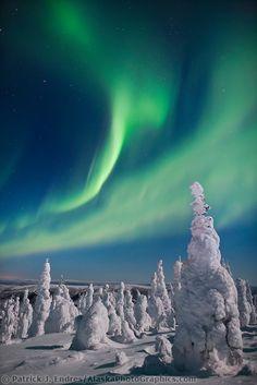 Northern lights, Alaska.