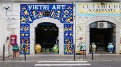 <strong>Ceramics capital: </strong>Vietri sul Mare is the ceramics capital of Campania -- even the royal court of Naples was its client. It's still packed with decorative tile shopfronts selling ceramics of all shapes and sizes.