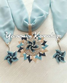 Such – Fashion Accessories Scarf Necklace, Scarf Jewelry, Crochet Necklace, Jewelry Necklaces, Jewellery, Crochet Accessories, Fashion Accessories, Palestinian Embroidery, Tatting Patterns