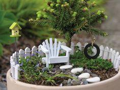 Simple Fairy Garden Idea