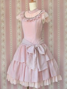 This Victorian Maiden dress is called Fairy Chiffon Doll, and I think the name really fits.