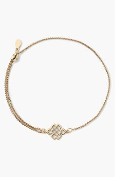 Alex+and+Ani+'Providence+-+Endless+Knot'+Pull+Chain+Bracelet+available+at+#Nordstrom