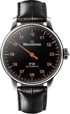 MeisterSinger N°03 luxury one hand watch