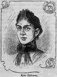 Catherine Eddowes, drawing from 'Famous Crimes Past and Present' 1902 (Jack the Ripper's 4th confirmed victim, murdered 30 September 1888)