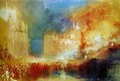 On 16 October 1834, two careless workmen set fire to the Houses of Parliament. The sprawling medieval complex was almost entirely destroyed in perhaps London's most famous conflagration between the Great Fire and the Blitz. The charred remains would eventually be cleared to make way for the grand Neo-Gothic buildings that still stand.
