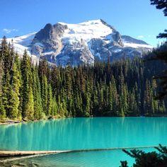 Joffre Lakes Provincial Park em Pemberton, BC