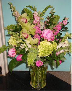 Unique Flower Arrangements | Flower arrangements like this cost $30 – $100, depending on the size ...