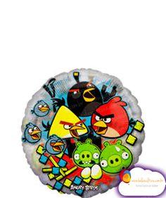 Balão Angry Turma Tamanho: Super Shape decoração de mesa e bouquets  www.balaocultura.com.br