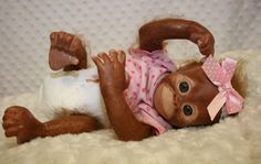 Bindi, Orangutan Monkey by Denise Pratt